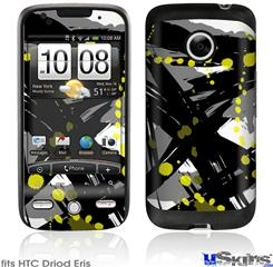 HTC Droid Eris Skin - Abstract 02 Yellow
