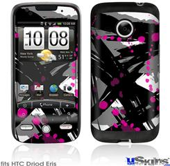 HTC Droid Eris Skin - Abstract 02 Pink