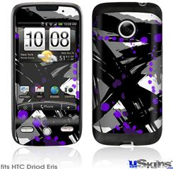 HTC Droid Eris Skin - Abstract 02 Purple