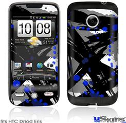 HTC Droid Eris Skin - Abstract 02 Blue