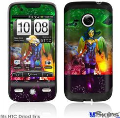 HTC Droid Eris Skin - Kathy Gold - Tech Angel 2
