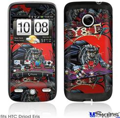 HTC Droid Eris Skin - Y&T Black Tiger Covers