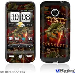 HTC Droid Eris Skin - Y&T Facemelter Covers