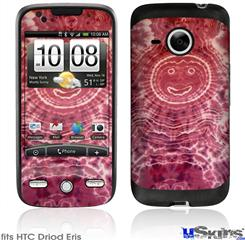 HTC Droid Eris Skin - Tie Dye Happy 102