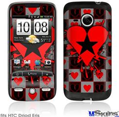 HTC Droid Eris Skin - Emo Star Heart
