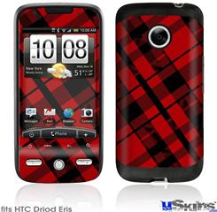 HTC Droid Eris Skin - Red Plaid