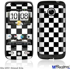 HTC Droid Eris Skin - Checkers White