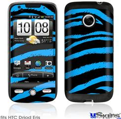 HTC Droid Eris Skin - Zebra Blue