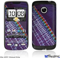 HTC Droid Eris Skin - Tie Dye Alls Purple