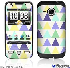 HTC Droid Eris Skin - Triangles Cool