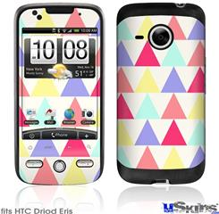 HTC Droid Eris Skin - Triangles Light