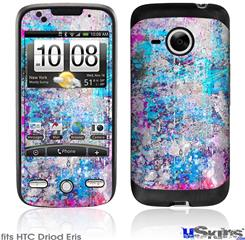 HTC Droid Eris Skin - Graffiti Splatter