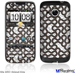 HTC Droid Eris Skin - Locknodes 01 Chocolate Brown