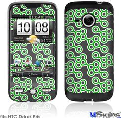 HTC Droid Eris Skin - Locknodes 02 Green
