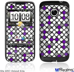 HTC Droid Eris Skin - Locknodes 05 Purple