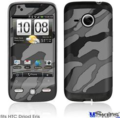 HTC Droid Eris Skin - Camouflage Gray