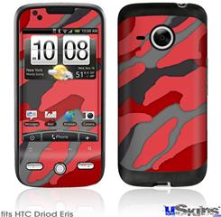 HTC Droid Eris Skin - Camouflage Red