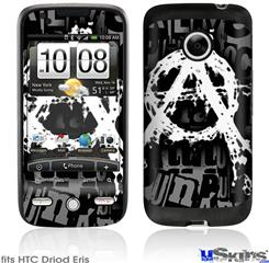 HTC Droid Eris Skin - Anarchy