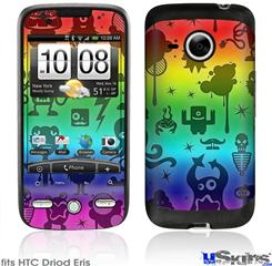 HTC Droid Eris Skin - Cute Rainbow Monsters