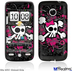 HTC Droid Eris Skin - Girly Skull Bones