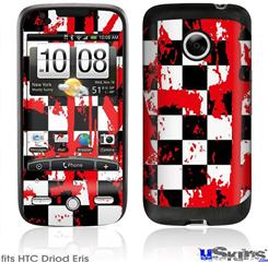 HTC Droid Eris Skin - Checkerboard Splatter