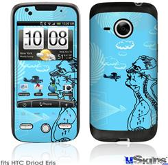 HTC Droid Eris Skin - The Beautifully Paranoid