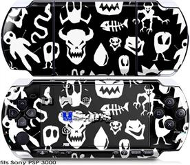 Sony PSP 3000 Skin - Monsters
