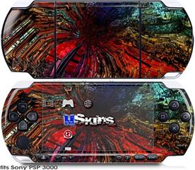 Sony PSP 3000 Skin - Architectural