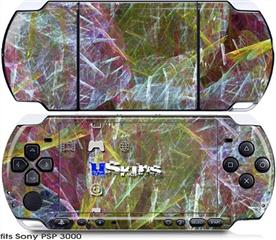 Sony PSP 3000 Skin - On Thin Ice