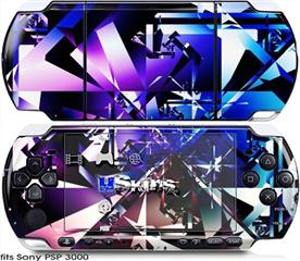Sony PSP 3000 Skin - Persistence Of Vision