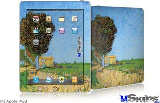 iPad Skin - Vincent Van Gogh A Lane near Arles