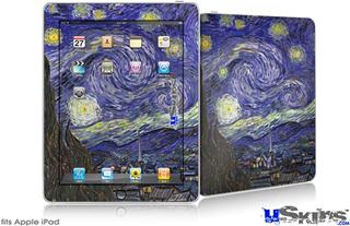 iPad Skin - Vincent Van Gogh Starry Night
