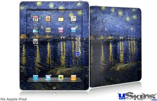 iPad Skin - Vincent Van Gogh Starry Night Over The Rhone