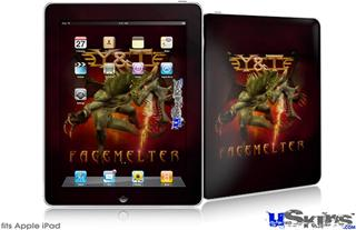 iPad Skin - Y&T Facemelter