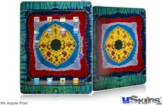 iPad Skin - Tie Dye Circles and Squares 101