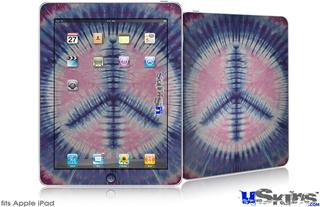 iPad Skin - Tie Dye Peace Sign 101
