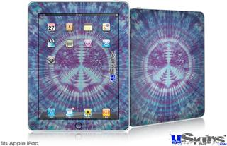 iPad Skin - Tie Dye Peace Sign 106