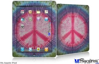 iPad Skin - Tie Dye Peace Sign 108