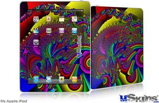 iPad Skin - And This Is Your Brain On Drugs
