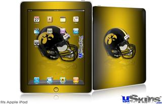 iPad Skin - Iowa Hawkeyes Helmet
