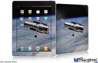 iPad Skin - Hubble Images - Hubble Orbiting Earth