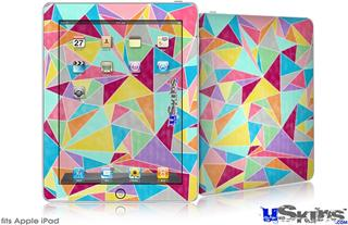 iPad Skin - Brushed Geometric