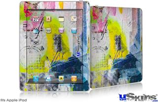 iPad Skin - Graffiti Graphic