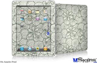 iPad Skin - Flowers Pattern 05