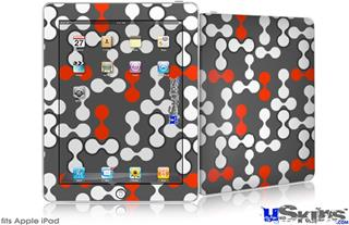 iPad Skin - Locknodes 04 Red
