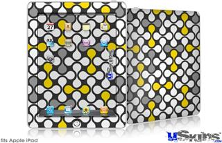 iPad Skin - Locknodes 05 Yellow