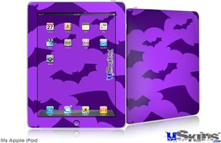 iPad Skin - Deathrock Bats Purple
