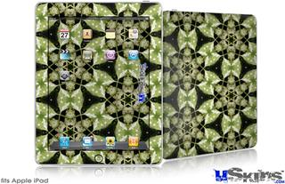 iPad Skin - Leave Pattern 1 Green