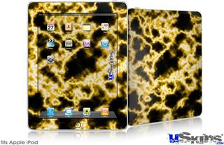 iPad Skin - Electrify Yellow