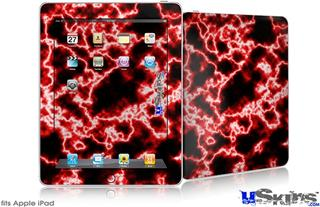 iPad Skin - Electrify Red